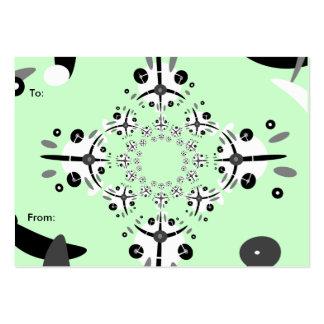 Cirq de Circle Gift Tag Large Business Card