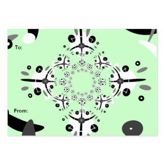 Cirq de Circle Gift Tag Pack Of Chubby Business Cards
