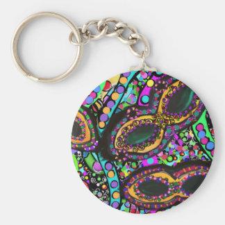Cirque du Art Keychain