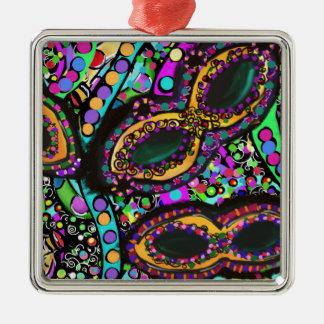 Cirque du Art Metal Ornament