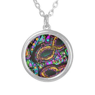 Cirque du Art Silver Plated Necklace