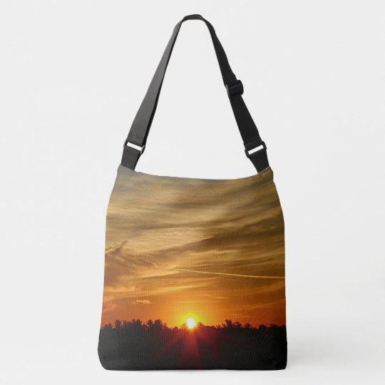 Cirrostratus Cloud Sunrise Crossbody Bag