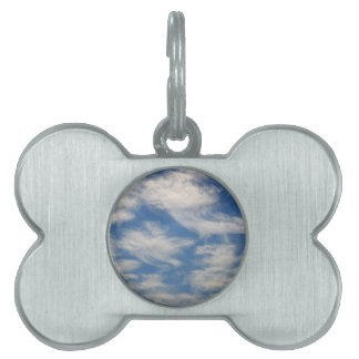 Cirrus Clouds like Angels flying Pet ID Tag