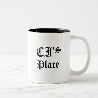 CI's Place Two-Tone Coffee Mug