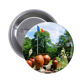 Cismigiu Park in Bucharest, Romania 2 Inch Round Button