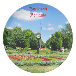 Cismigiu Park in Bucharest, Romania Plates