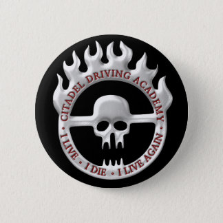 Citadel Driving Academy 2 Inch Round Button
