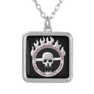 Citadel Driving Academy Silver Plated Necklace