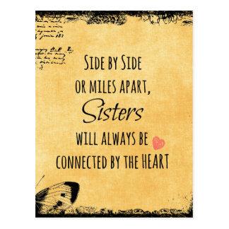 Citation de soeur cartes postales