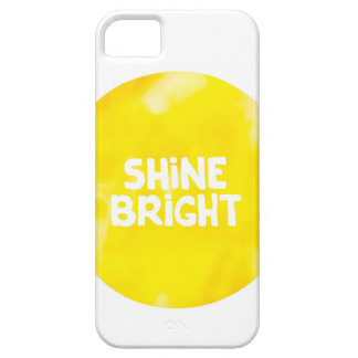 Citation lumineuse de typographie d'inspiration du coque iPhone 5