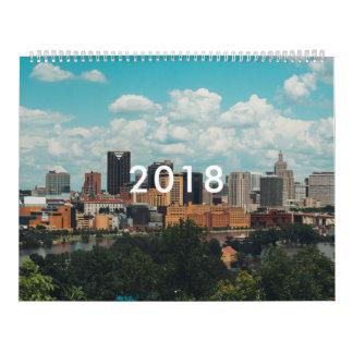 Cities calendar 2018