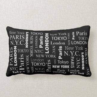 Cities Cool Throw Pillow