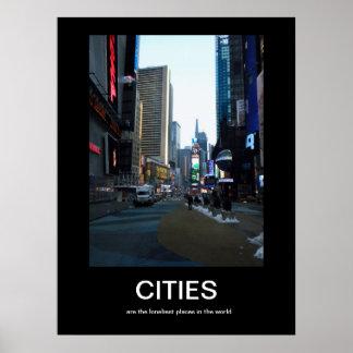 CITIES Demotivational Poster