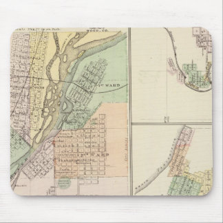 Cities of Centralia & Grand Rapids Mouse Pad