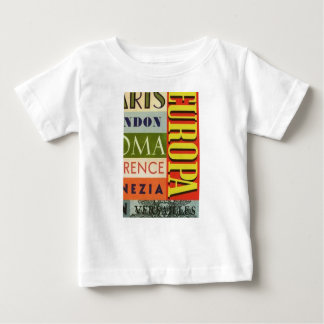 Cities of Europe Baby T-Shirt