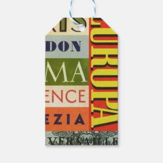 Cities of Europe Gift Tags