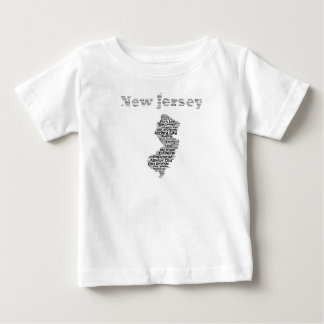 Cities of New Jersey Baby T-Shirt