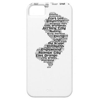 Cities of New Jersey Case For The iPhone 5