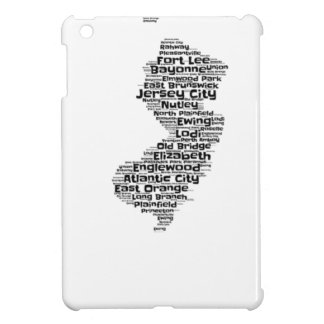 Cities of New Jersey Cover For The iPad Mini