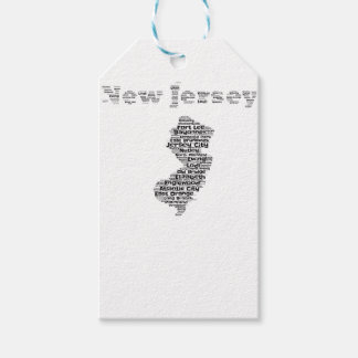 Cities of New Jersey Gift Tags