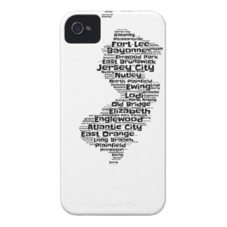 Cities of New Jersey iPhone 4 Case-Mate Case