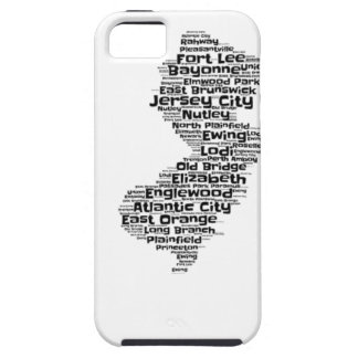 Cities of New Jersey iPhone 5 Case