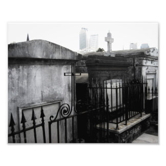 """""""Cities Of The Dead"""" New Orleans Cemetery Photo"""