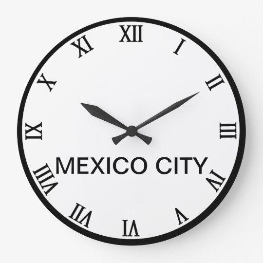Cities of the world clock
