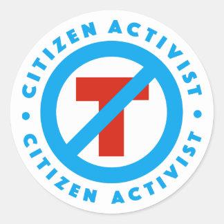 Citizen Activist Anti-Trump Sticker