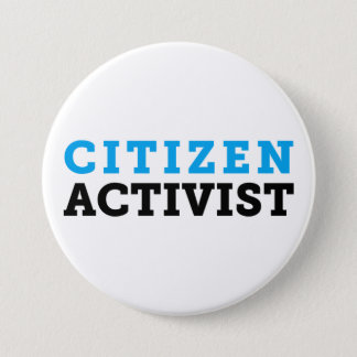 Citizen Activist Button