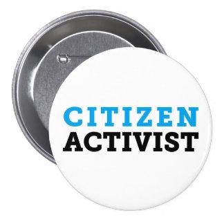 Citizen Activist Button