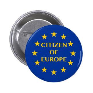 Citizen of Europe 2 Inch Round Button