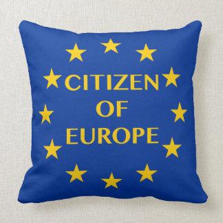 Citizen of Europe pillow