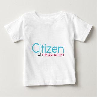 Citizen of Nerdynation Baby T-Shirt