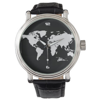 Citizen Of The World Leather E Watch