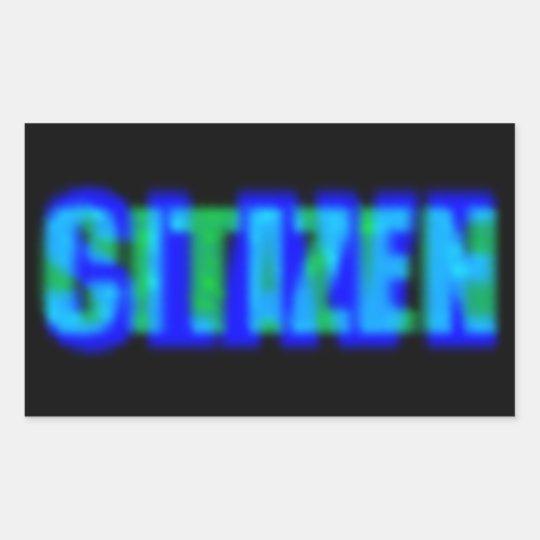 Citizen Slave Sticker