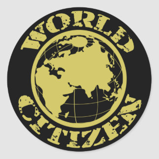 Citizen Round Sticker