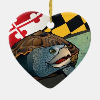 Citizen Terrapin, Maryland's Turtle Ceramic Ornament