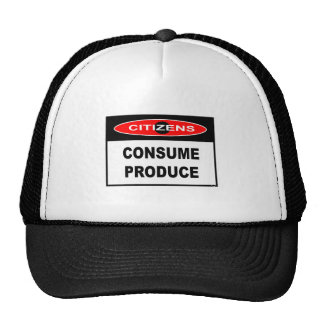 CITIZENS -  CONSUME PRODUCE TRUCKER HAT