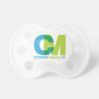 Citizens' Media Logo Pacifier