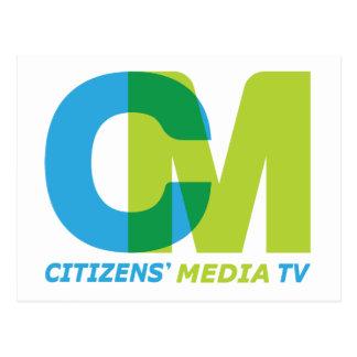 Citizens' Media Logo Postcard