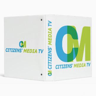 Citizens' Media TV Logo Binder