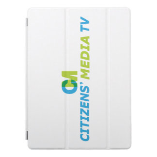 Citizens' Media TV Logo iPad Pro Cover
