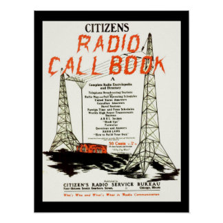 Citizens Radio Callbook Poster