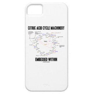Citric Acid Cycle Machinery Embedded Within Krebs iPhone 5 Covers