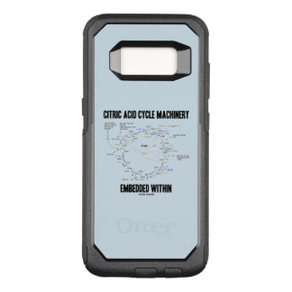 Citric Acid Cycle Machinery Embedded Within Krebs OtterBox Commuter Samsung Galaxy S8 Case