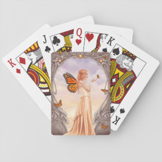 Citrine Birthstone Fairy Classic Playing Cards