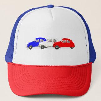 Citroen 2 CV Tricolour Trucker Hat