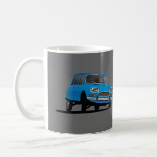 Citroën Ami 8, blue – 2 image coffee mug