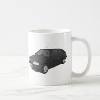 Citroën BX black / gray mug